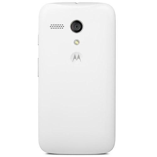 Motorola Shell for Moto G - Retail Packaging - White
