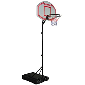 Buy 8' Adjustable Height Indoor Outdoor Portable Youth Basketball Hoop by Aosom