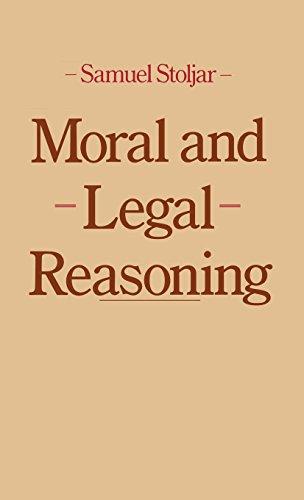 Moral and Legal Reasoning