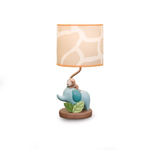 Carter's Lamp Base And Shade, Jungle Play (Discontinued by Manufacturer)