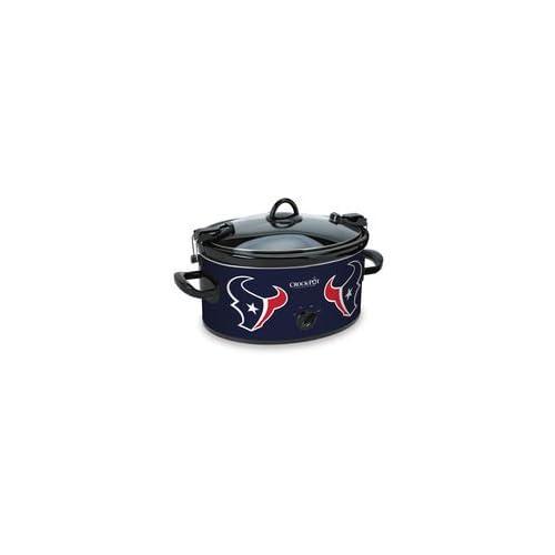 Official NFL Crock-pot Cook   Carry 6 Quart Slow Cooker - (Houston Texans) 9cc2d8eb3