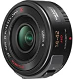 Panasonic Lumix G X Vario PZ 14-42mm/F3.5-5.6 Lens for Panasonic Lumix G-Series Digital Cameras (Black)