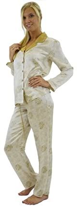 Silk Pajama Set - Imperial Gold