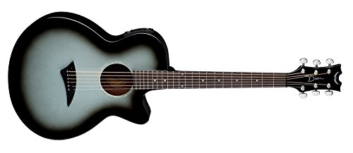 Dean Guitars Ax Pe Svb Acoustic-Electric Guitar, Black