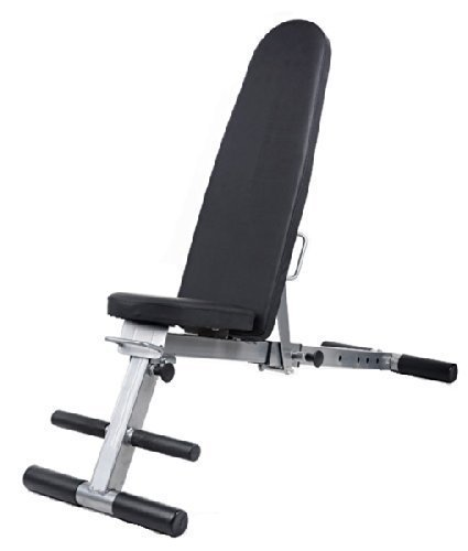 Hantelbank 7 In 1, mehrfach verstellbar: Klappbare Hantelbank Klapp Einstellbare Gym Fitness Exercise Bench Trainingsbank 7 in 1