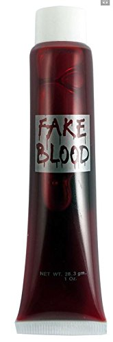 Fake Blood Cut Scar Wound for Halloween Make Up Scary Fancy Dress Costume Outfit - V00295 by Partyrama