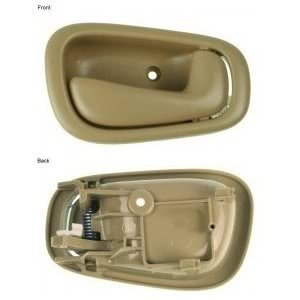 2001 01 Toyota Corolla Door Handle Inside Passenger Side Front Or Rear Beige