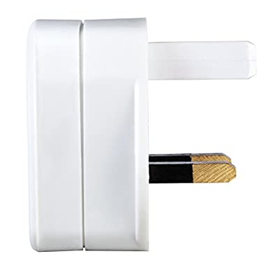 Masterplug Indoor Power SHADC-MP Shaver Adaptor Fused - White