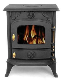 Vortigern 5kW CAST IRON WOODBURNING MULTIFUEL STOVE V13 - genuine CE certificate issued in the UK.