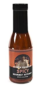 Steven Raichlen Best Of Barbecue Spicy Gourmet Ketchup 13-12-ounce by Steven Raichlen Best of Barbecue