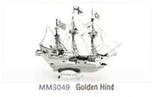 Fascinations Metal Earth 3D Laser Cut Model - Golden Hind Ship