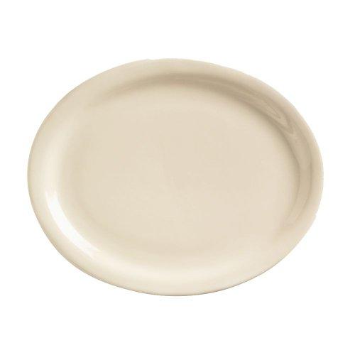 World Tableware Nr-14 Kingsmen White Nr 13 X 10 Oval Platter - 12 / Cs