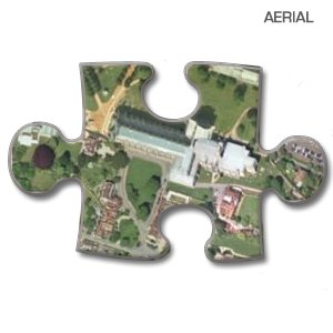 (Aerial) - Personalised Map Jigsaw Puzzle - 255 Piece