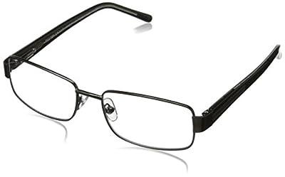 Foster Grant Wes Men's Rectangular Multifocus Glasses