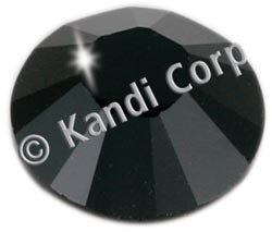 Kandi Corp Hotfix Swarovski Crystals 3mm Jet 36/Pkg K123-34; 3 Items/Order