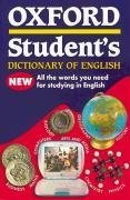 Oxf Student's Dict of English (Oxford Dictionaries) (French Edition)