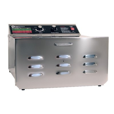 TSM D-5 Stainless Steel Food Dehydrator with 1/4 Stainless Steel Shelves by TSM Products