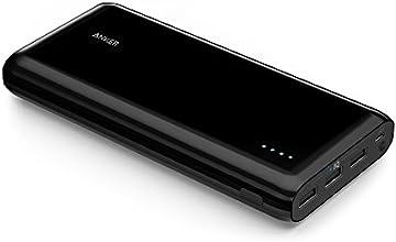 Anker® Astro E7 Ultra Hohe Kapazität 26800mAh 3-Port 4A Kompakter Externer Akku Ladegerät mit PowerIQ Technologie für iPhone, iPad, Samsung und weitere (Schwarz)