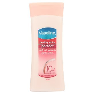 ヴァセリン ヘルシーホワイトパーフェクトーローション VASELINE Healthy White Perfect 10 Skin Lightening Whitening Body Lotion Whiten