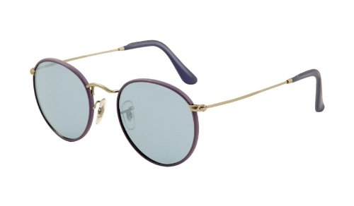 Ray-Ban 3475Q 019-62 Blue 3475Q Round Sunglasses