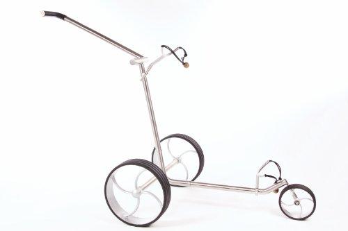 Golf Trolley eco³ zum Schieben aus Edelstahl
