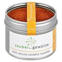 """Rote Chillies """"Chipotle"""" Jalapeno, 65g von Zauber der Gewürze GmbH bei Gewürze Shop"""