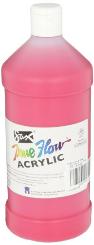Sax True Flow Medium Bodied Acrylic Paint - Quart - Bright Red