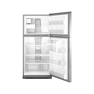 WRT571SMYF Whirlpool 21 cu. ft. Top-Freezer Refrigerator with PUR Ice Filtration - Satina Stainless Look