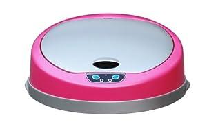 Kitchen Move 103 Couvercle pour Poubelle Automatique de Cuisine avec Capteur Sensoriel ABS Rose 32 x 13 x 32 cm