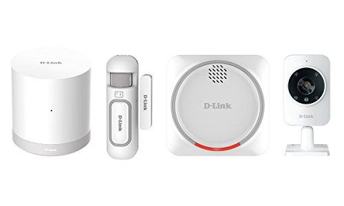 D-Link-DCH-107KT-Kit-di-Sistema-di-Sicurezza-Domestico-HD-Wi-Fi-Sensore-per-Porte-e-Finestre-Sirena-dAllarme-e-Videocamera-di-Sorveglianza-Bianco