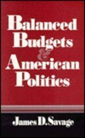 Balanced Budgets and American Politics