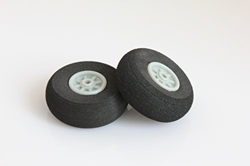 RC Plastic Core Sponge Wheels D35mm - 1