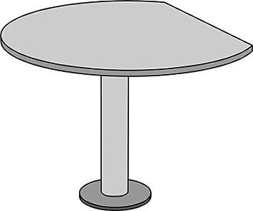 Office akktiv Estado Cultivo mesa-Diámetro 1100mm-color gris añadidas de mesa Reunión mesa Reunión stische Estado Estado Oficina Muebles programa escritorio mesa Puente mesa Puentes activo Office a