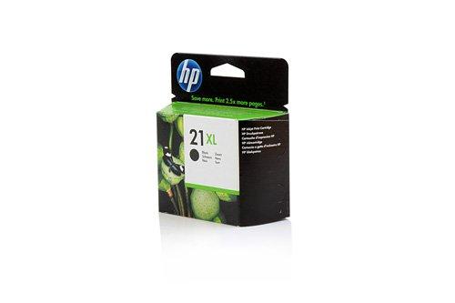 Original XL Tinte passend für HP DeskJet D 2360 HP 21XL , NO 21 XL , Nr 21C 9351 CE , C9351CE , C9351CEABB , C9351CEABD , C9351CEABE , C9351CEABF - Premium Drucker-Patrone - Schwarz - 475 Seiten - 12 ml