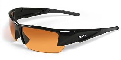 Maxx Sunglasses Stealth 2.0 Golf Shades Black