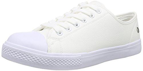 BlinkBchillinL - Scarpe da Ginnastica Basse Donna , Bianco (Weiß (04 White)), 39