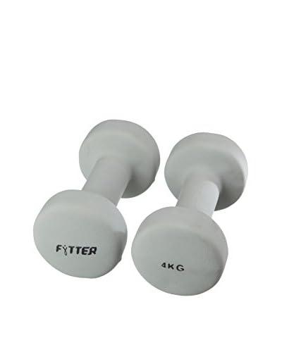 FYTTER Mancuerna Fitness 4Kg Aeb04B Gris