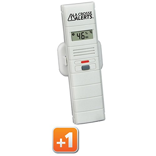 La Crosse Alerts Mobile 926-25000-BP Wireless Monitor Add-On Sensor Only for existing La Crosse Alerts Mobile System - 1