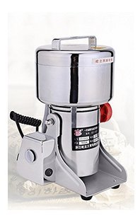 400G Stainless Steel High-Speed Grinder Mill Family Medicial Powder Machine Commercial Electric Grinder Mill Herb Grinder,Pulverizer 110V