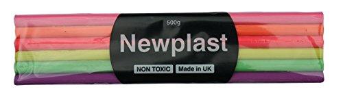 NewPlast 500 g luminosa colorata blocco di argilla