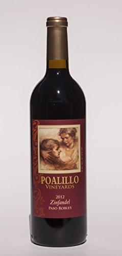 2012 Poalillo Vineyards Zinfandel Paso Robles 750 Ml