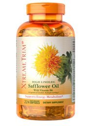 Puritan'S Pride High Linoleic Safflower Oil With Vitamin B6 244 Softgels