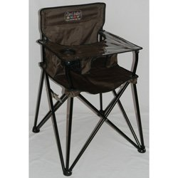 Best Deals! Portable Travel High Chair - Color: Chocolate