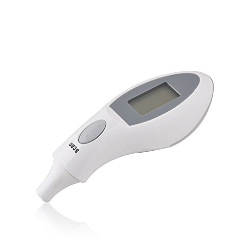 Xhan Digital Baby Infrared Ir Portable Ear Thermometer, White front-88843