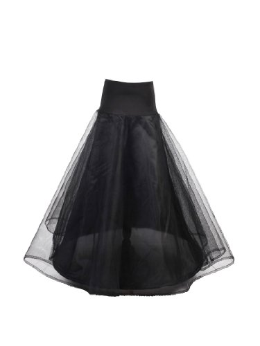 Topwedding 1 Hoop Bridal Petticoat Underskirt for A Line Wedding Dress S-XXL