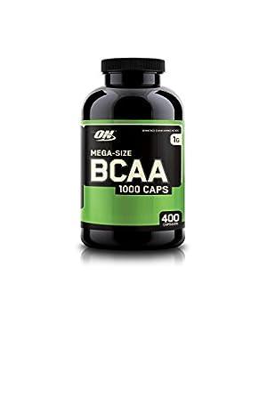 Optimum Nutrition BCAA Capsules, 1000mg, 400 Count