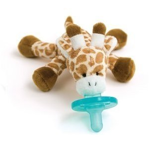 Wubbanub Infant Pacifier Giraffe from Wubbanub