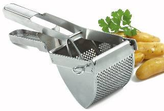 18/10 S/S COMM'L POTATO RICER - Buy 18/10 S/S COMM'L POTATO RICER - Purchase 18/10 S/S COMM'L POTATO RICER (Norpro, Home & Garden, Categories, Kitchen & Dining, Cook's Tools & Gadgets, Fruit & Vegetable Tools, Potato Mashers & Ricers)