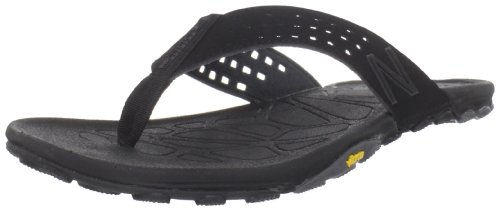 New Balance Men's Men's Minimus Vibram Thong,Black,11 M US