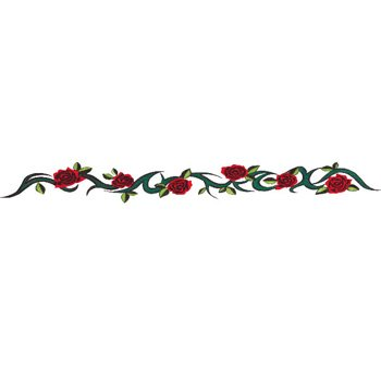 Buy TRIBAL ROSE Arm Band Temporary Tattoo 1.5×9